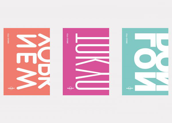 Krystal Loh - Design for Publishing work; showing three posters in different colours