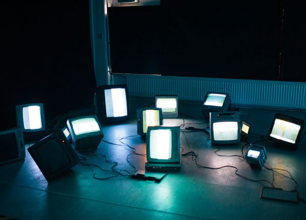 Neil James Earl - Image of various TV on a floor