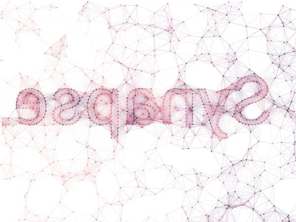 James Ward - Digital image of the word Synapse